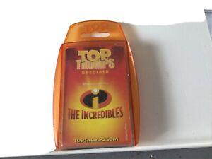 The Incredibles 2004 Top Trumps Specials Card