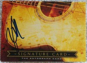 Buckcherry Drummer Xavier Mauriel Signed Musicians Signature Card