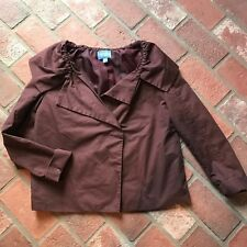 100e4edf2 Simply Vera Wang Women's XS burgundy wine blazer suit Jacket