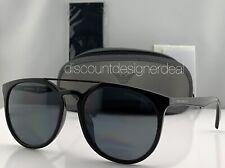 Emporio Armani Round Sunglasses EA4103F Black Frame Gray Polarized Lens 5017/81