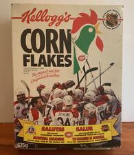 Kellogg Rare Corn Flakes 1993 Montreal Canadiens Cup Winning Box