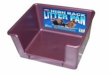 Marshall High Back Ferret Litter Pan(Colors May Vary) , New, Free Shipping