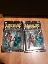 Witchblade action figures by Top Cow Medieval Witchblade and Sara Pezzini