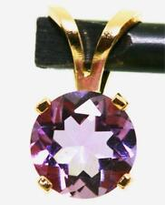 14k Yellow Gold Amethyst Fine Necklaces & Pendants