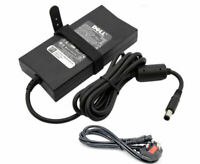 Genuine Dell 130W 19.5V 6.7A AC Adapter Laptop Charger LA130PM121 + POWER CABLE