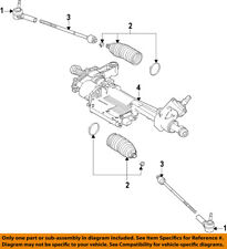 FORD OEM 15-17 Mustang Steering Gear-Outer Tie Rod End FR3Z3A130B