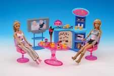 NEW Fancy Life DOLLHOUSE FURNITURE Cafe PLAYSET (2918)
