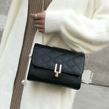 US Women Girls PU Patchwork Backpack Rucksack School Bag Travel Handbag