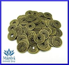 5x Monete Cinesi Portafortuna ZEN Feng Shui