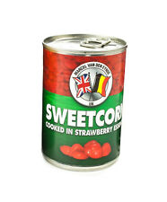 VAN DEN EYNDE TINNED SWEETCORN COOKED IN STRAWBERRY ESSENCE FISHING BAIT 400G