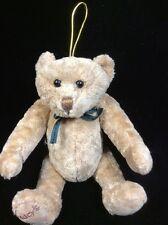 "Gund Macy's New York Brown Teddy Bear Jointed Plush 7"" Stuffed Animal"