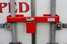 Lock for semi truck trailer load swing door security trucker 18 wheeler cargo