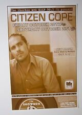 """Citizen Cope 2006 Original Concert Poster """"Every Waking Moment"""""""