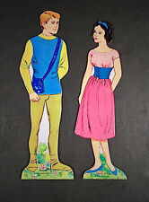 """""""SNOW WHITE AND THE PRINCE"""" 1967 WHITMAN CUT PAPER DOLLS VINTAGE"""