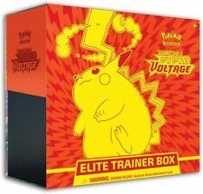 Pokemon TCG Sword & Shield Vivid Voltage Elite Trainer Box.