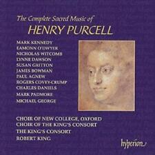 Henry Purcell : The Complete Sacred Music of Henry Purcell CD (2002) ***NEW***