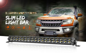 SLIM 20INCH 1200W LED WORK LIGHT BAR DUAL ROW DRIVING LAMP FOR UTE ATV SUV 4WD
