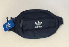 Adidas Originals Mens Blue Waist Fanny Cross Body Bag Adjustable One Size NWT