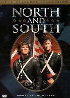 North and South Trilogy Books 1 / 2 / 3 The Complete Collection (5 Disc) DVD NEW