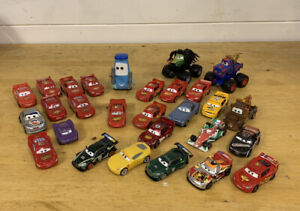 Disney Pixar Cars. Lightning McQueen 28 car bundle.
