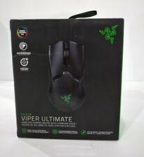 Razer Viper Ultimate Hyperspeed Lightest Wireless Gaming Mouse, Black