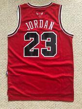 Michael Jordan #23 Chicago Bulls Red Classic Men's Jersey