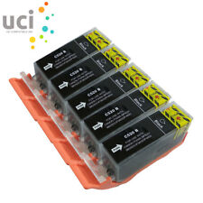 5 Black Ink Cartridges For Canon PGI-520 MP540 MP550 IP3600 MP620 MP640 IP4700