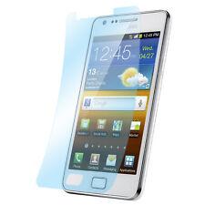 3x Matt Schutz Folie Samsung S2 / Plus Anti Reflex Entspiegelt Display Protector