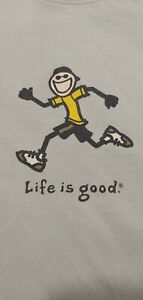 Life is Good Womens Running  Short Sleeve T-Shirt Size M, NEVER WORN