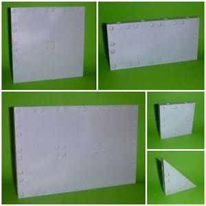Playmobil Bodenplatte Grundplatte - grau marmoriert - System X - diverse Größen