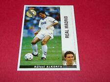 RAFAEL ALKORTA FUTBOL REAL MADRID PANINI LIGA 95-96 ESPANA 1995-1996 FOOTBALL