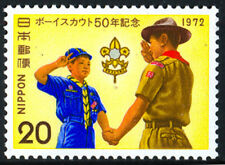 GIAPPONE 1972: BOY SCOUTS NUOVISSIMO
