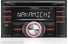 NAKAMICHI NA780 In-DASH 2-DIN CD USB SD CAR AUDIO STEREO RECEIVER **NEW**
