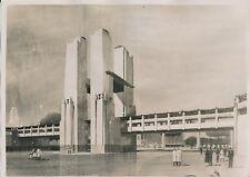 Exposition Coloniale c. 1930 - Porte Monumentale d'Honneur Paris - PRM 601
