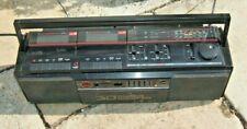 Vintage Hitachi Ghetto Blaster, Retro sound Boom Box. Bluetooth/PC compatible.