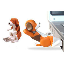 Portable Funny Cute Pet USB Humping Spot Dog Toy Christmas Gray