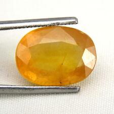 TOP SAPPHIRE : 8,10 Ct Natürlicher Gelber Saphir aus Ceylon