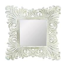 WOODEN WALL MIRROR - DECORATIVE WALL MIRROR - WALL DECOR  - WALL MIRROR -MIRROR
