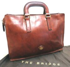 THE BRIDGE Aktentasche LEDERTASCHE Schultertasche LEDER Businesstasche TOP 753