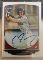 Clint Frazier Yankees 2013 Bowman Chrome Rookie Card Auto Signed RC QTY