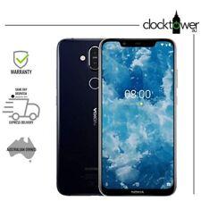"Nokia 8.1 64GB Blue TA-1128 6.18"" 13MP 4G LTE Smartphone Unlocked CLEARANCE AU"