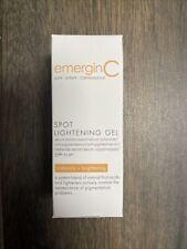 New listing emerginC Spot Lightening Gel 15ml/0.5oz Brand New