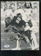 Raymond Ray Chester Oakland Raiders Photo Signed Autograph Auto PSA/DNA Football