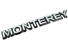 Genuine New VAUXHALL MONTERY TAILGATE BADGE Rear Opel 1991-1999 TD 3.1 3.2