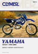 CLYMER REPAIR MANUAL Fits: Yamaha YZ125