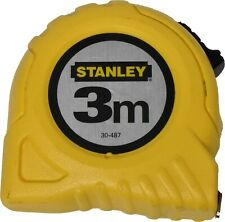 Tape Measure Measuring Tape 3m x 12.7mm Yellow Stanley 0 30 487