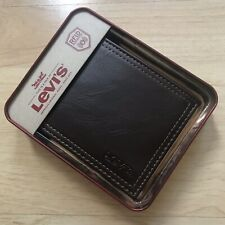 Levi's® Men's Leather Jeffrey RFID Security Billfold Wallet - Brown