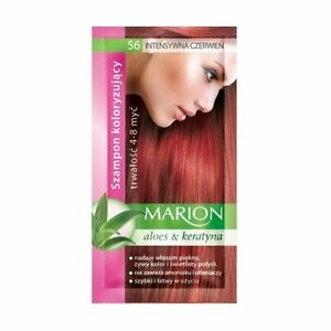 Marion Hair Color Shampoo in Sachet Lasting 4 to 8 Washes Aloe and Keratin