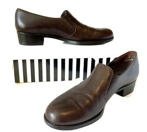 MUNRO American (Peter Sheppard) FAB LEATHER BROGUES/LOAFERS Sz 8.5 N RRP $286!