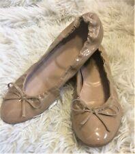 LK Bennett Nude Patent Leather Trilly Ballet Pumps Ballerina Flats size UK 5
